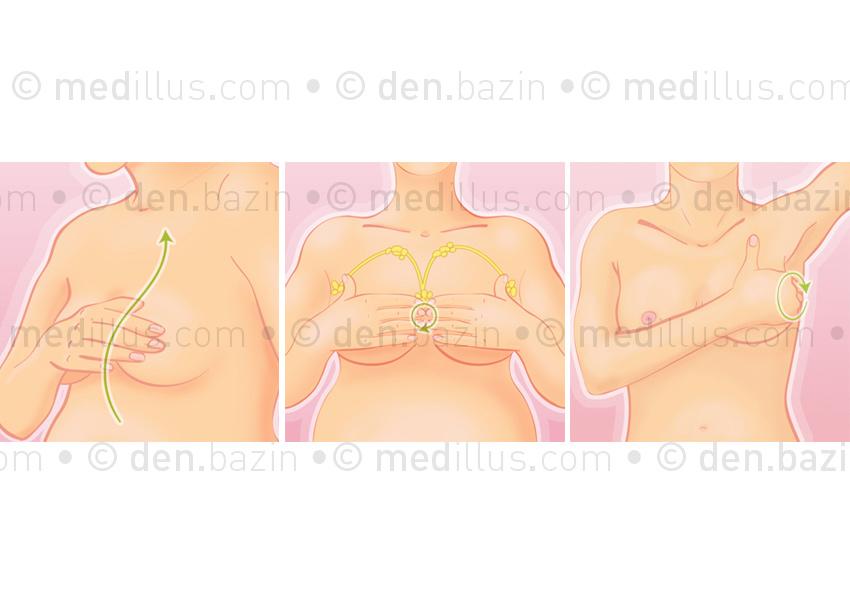 Automassage des seins