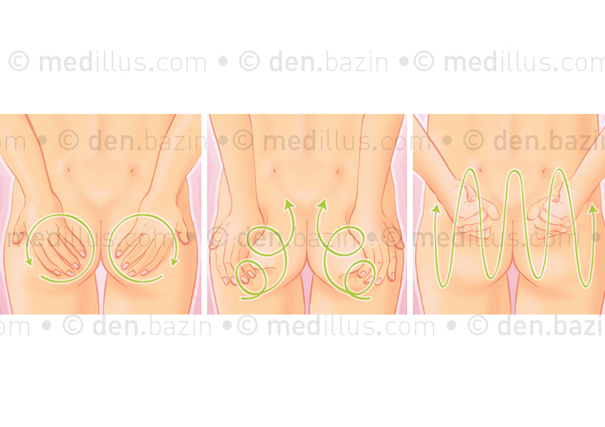 Automassage des fesses