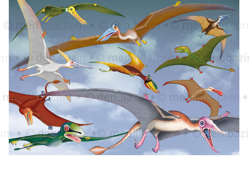 Les Ptérosaures (poster)