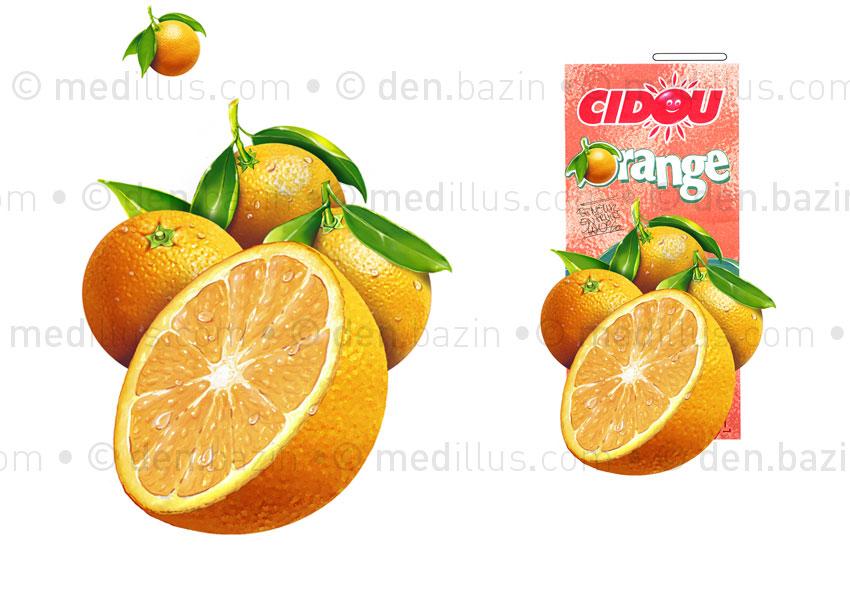 Oranges pur jus 2L