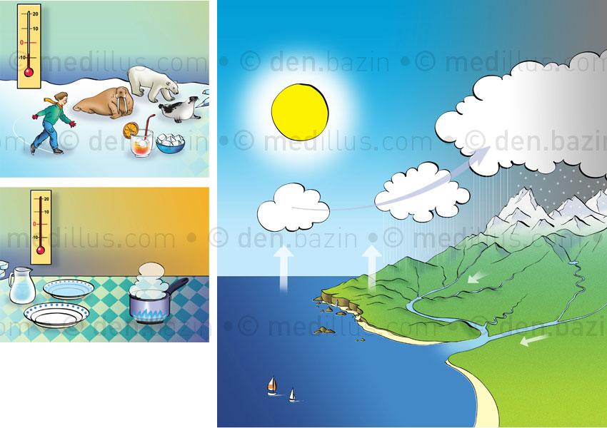 Le Cycle de l'eau CE1
