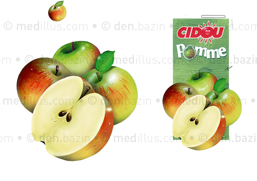 Pommes pur jus 2L