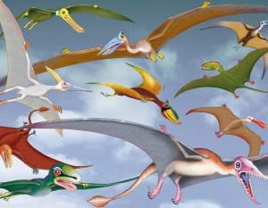 Ptérosaures et cie